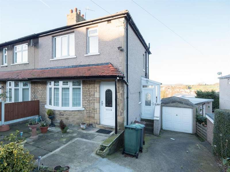 3 Bedrooms Semi Detached House for sale in Grasmere Road, Bradford, BD2 4HU