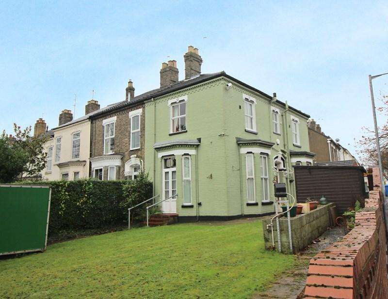 3 Bedrooms End Of Terrace House for sale in Dereham Road, Norwich