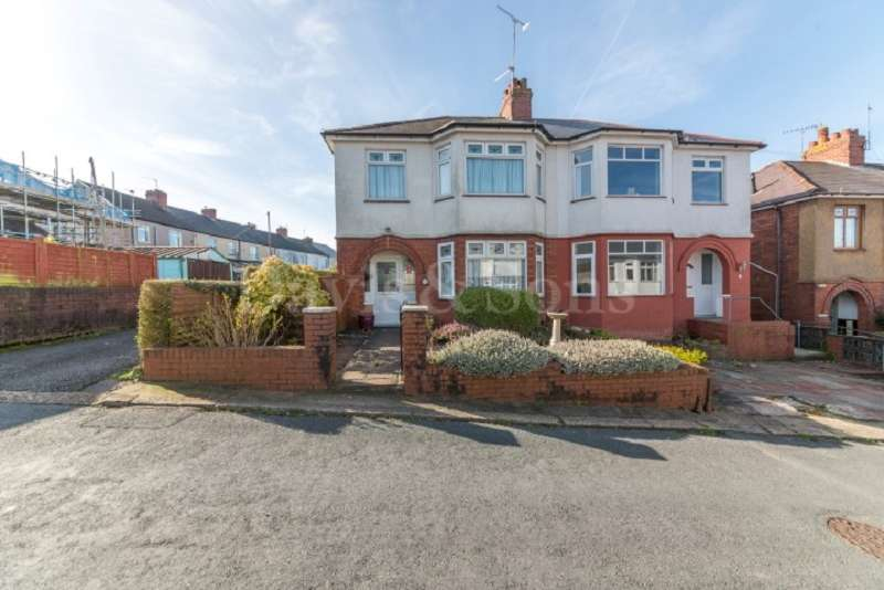 3 Bedrooms Semi Detached House for sale in Northumberland Road, St Julians , Newport. NP19 7SD