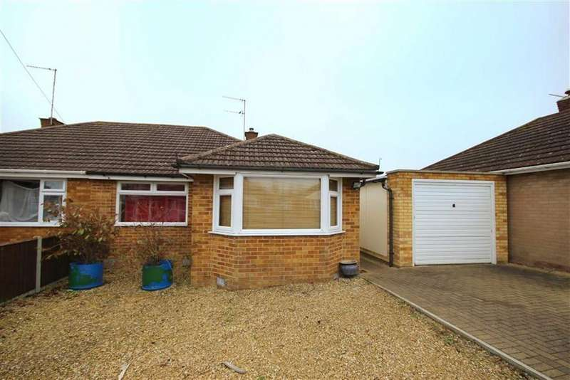 2 Bedrooms Semi Detached Bungalow for sale in Wells Close, Warden Hill, Cheltenham, GL51