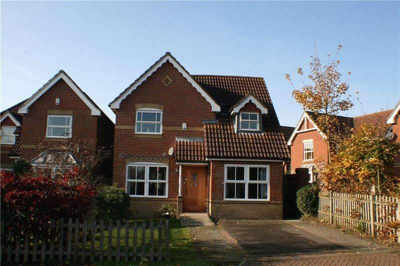 4 Bedrooms Detached House for sale in Siskin Close, Kennington, Ashford, Kent