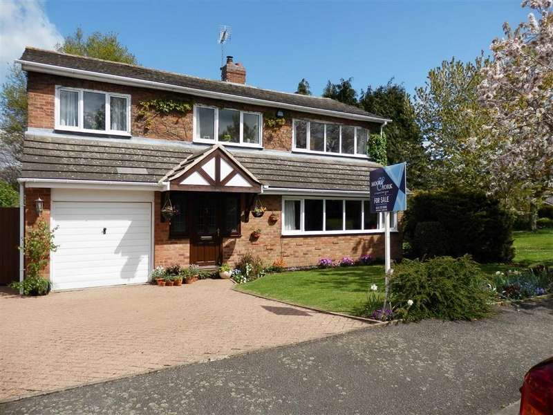 5 Bedrooms Detached House for sale in Hollies Way, Bushby