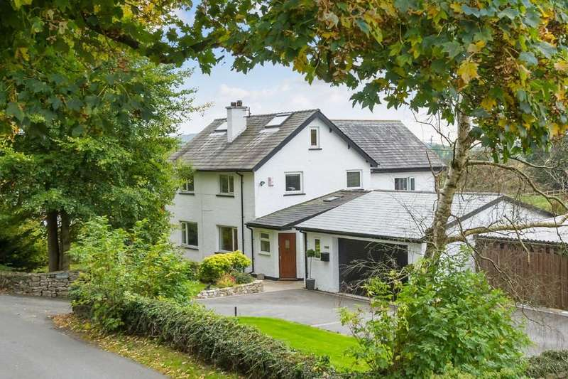 5 Bedrooms Detached House for sale in Burtlands, Station Lane, Burton-in-Kendal, Carnforth, Lancashire LA6 1HR