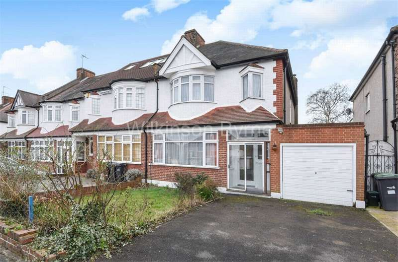 3 Bedrooms Semi Detached House for sale in Seafield Road, Arnos Grove