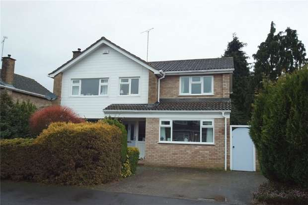4 Bedrooms Detached House for sale in Meadow Road, Wolston, Coventry