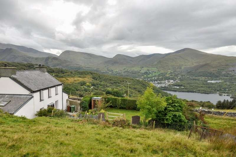 2 Bedrooms Detached House for sale in Dinorwig, Gwynedd, North Wales