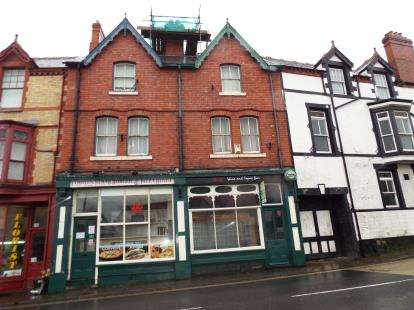 2 Bedrooms Terraced House for sale in The Square, Bridge Street, Corwen, LL21