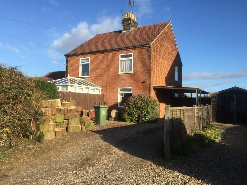 3 Bedrooms Semi Detached House for sale in Martham, Great Yarmouth, Norfolk