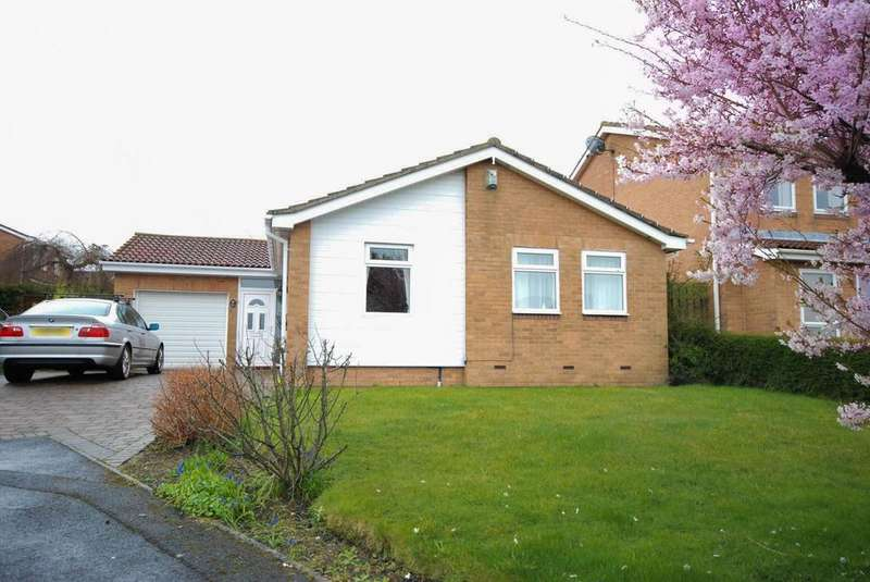 3 Bedrooms Bungalow for sale in Bracknell Close, Tunstall