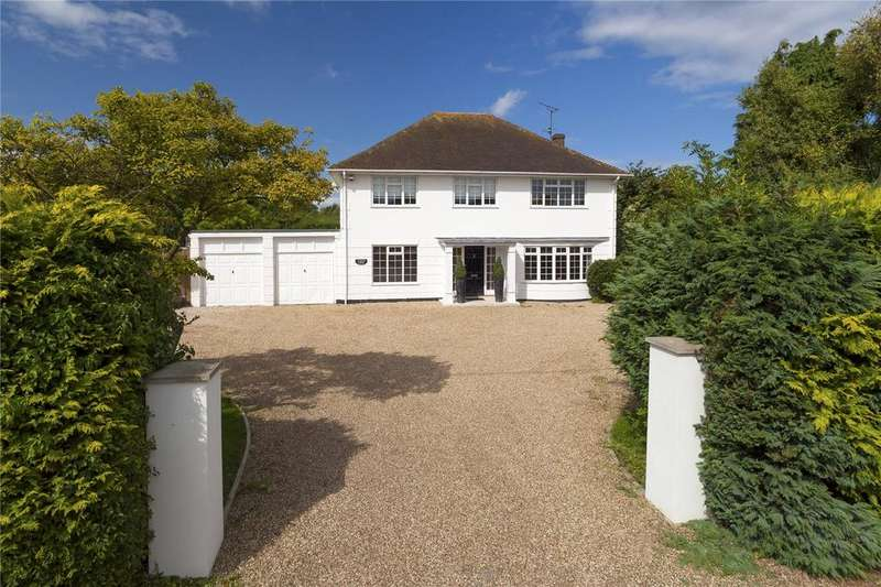 4 Bedrooms Detached House for sale in Durlock Road, Staple, Canterbury, Kent