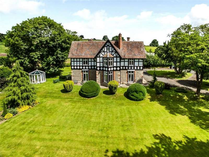 7 Bedrooms Detached House for sale in Hopton Castle, Craven Arms, Shropshire