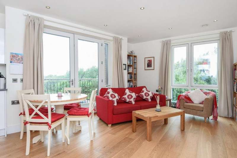 1 Bedroom Flat for sale in The Mill Apartments, West Hampstead, NW6