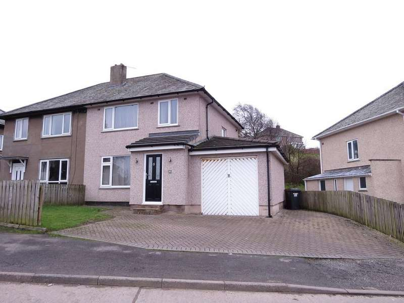 3 Bedrooms Semi Detached House for sale in Tomlin Avenue, Whitehaven, Cumbria
