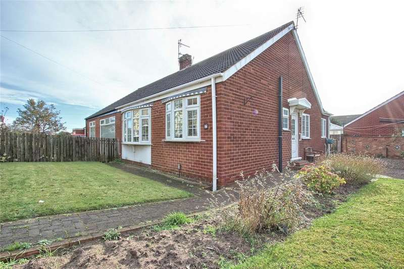 2 Bedrooms Semi Detached Bungalow for sale in York Road, Redcar