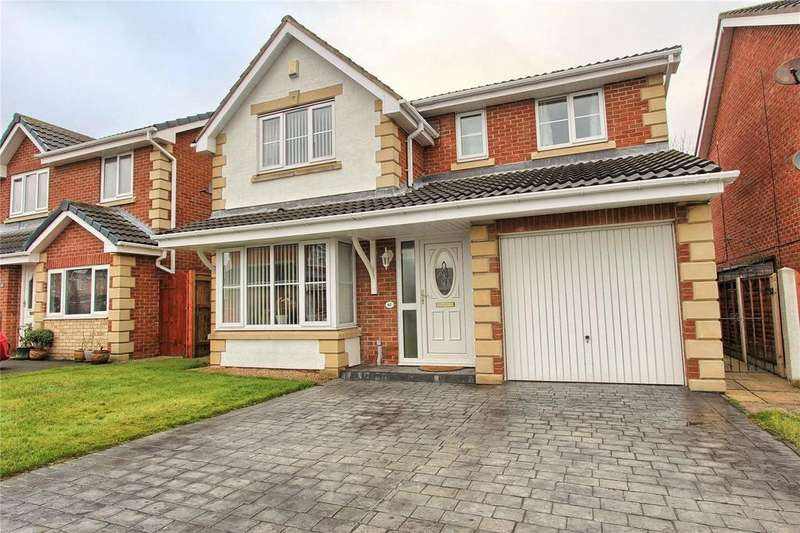 4 Bedrooms Detached House for sale in Landseer Drive, Wolviston Grange