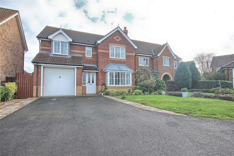 4 Bedrooms Detached House for sale in Blackthorn Close, Redcar