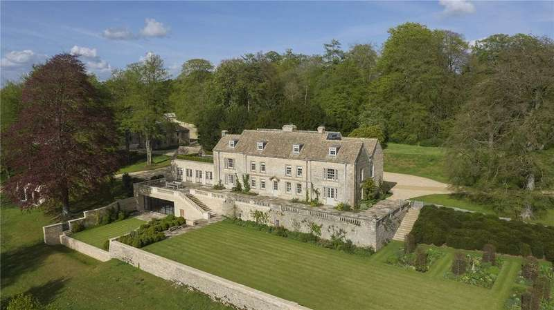 7 Bedrooms Detached House for sale in Duntisbourne Abbotts, Gloucestershire, GL7