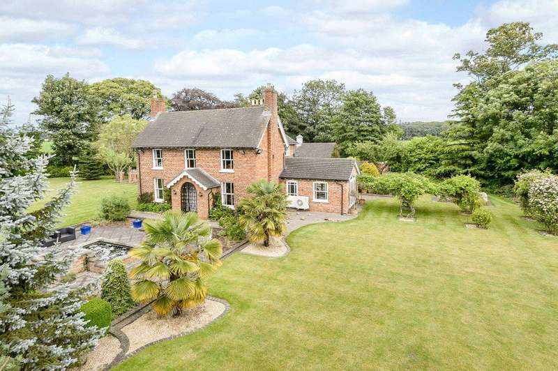 4 Bedrooms Detached House for sale in Coppice Lodge, Boston Road, Revesby, Boston, PE22