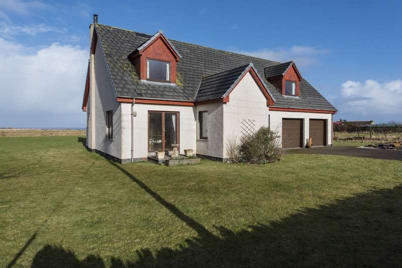 4 Bedrooms Detached House for sale in Brough, Thurso, Caithness, Highland, KW14 8YE