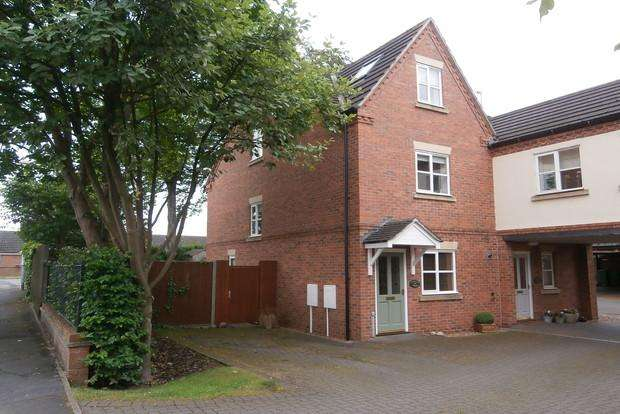 3 Bedrooms Town House for sale in Buddon Court, Linden Grove, Mountsorrel, LE12