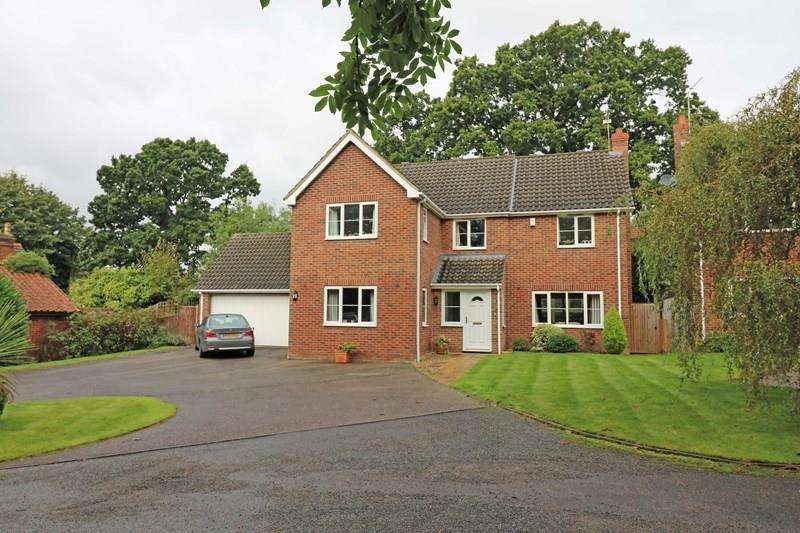 5 Bedrooms Detached House for sale in Harry Daniels Close, Wymondham