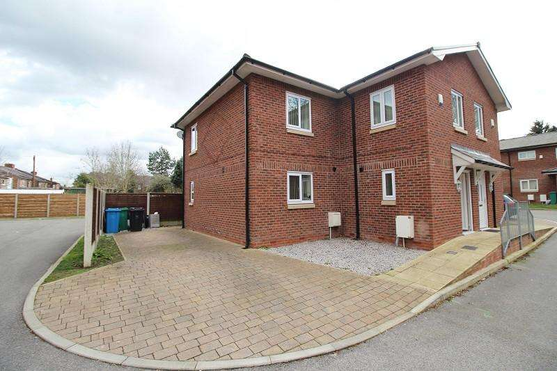 4 Bedrooms Semi Detached House for sale in Royle Green Road, Manchester, Greater Manchester. M22 4NG