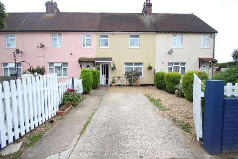 3 Bedrooms Terraced House for sale in Trafalgar Road, Lexden, Colchester, CO3