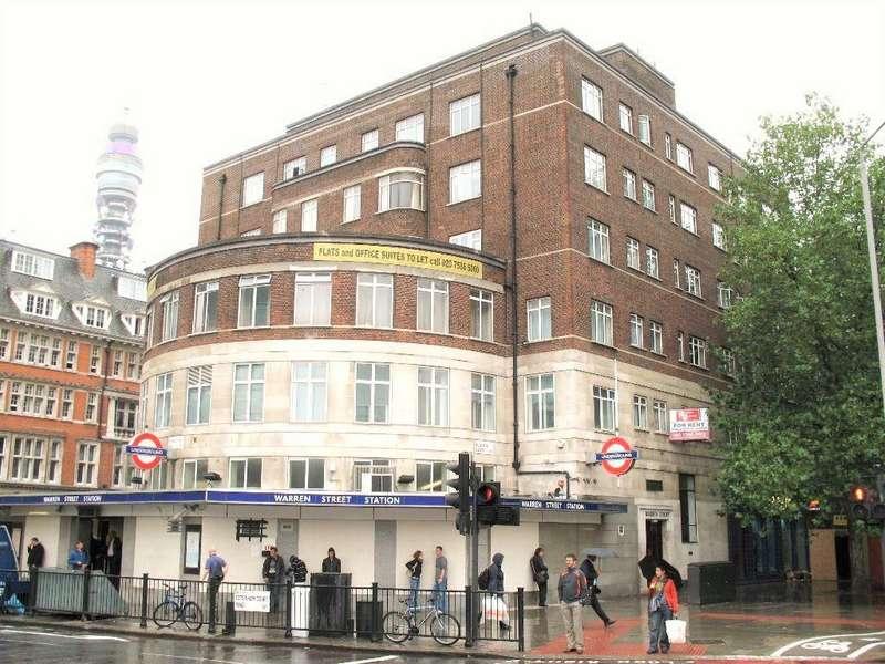 2 Bedrooms Flat for rent in Warren Court, Euston Road, London, NW1