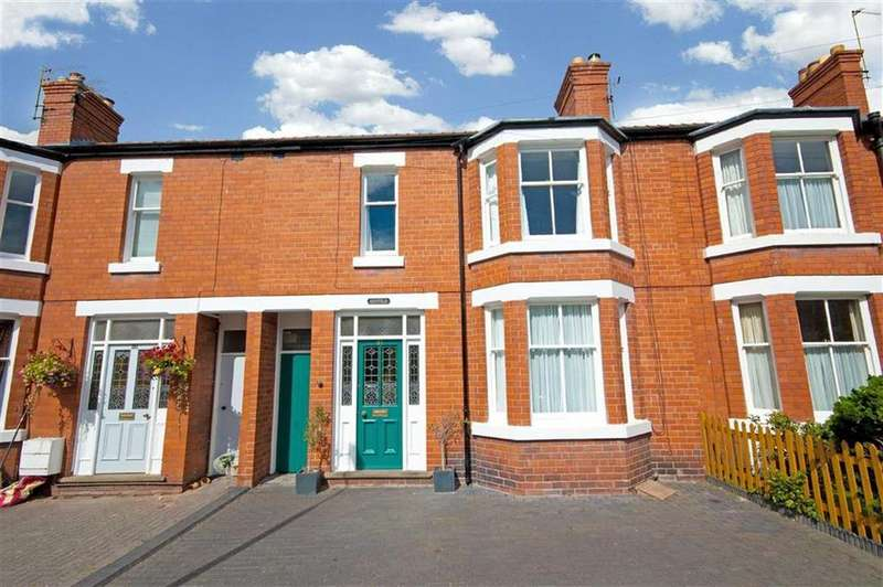 4 Bedrooms Terraced House for sale in King Street, Cherry Orchard, Shrewsbury, Shropshire