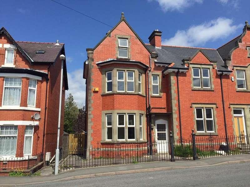 4 Bedrooms Semi Detached House for sale in Dyffryn Road, Llandrindod Wells, Powys