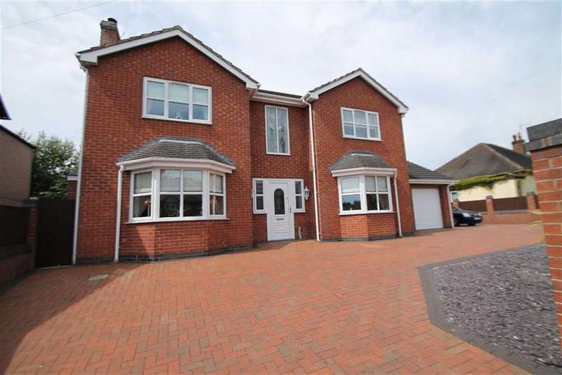 4 Bedrooms Detached House for sale in High Street, Gwersyllt, Wrexham