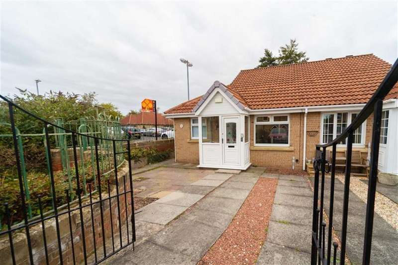 2 Bedrooms Semi Detached Bungalow for sale in Amberley Close, Howdon, Tyne Wear, NE28