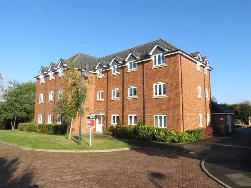 2 Bedrooms Apartment Flat for sale in Drake Close, Herons Reach, Shrewsbury, Shropshire