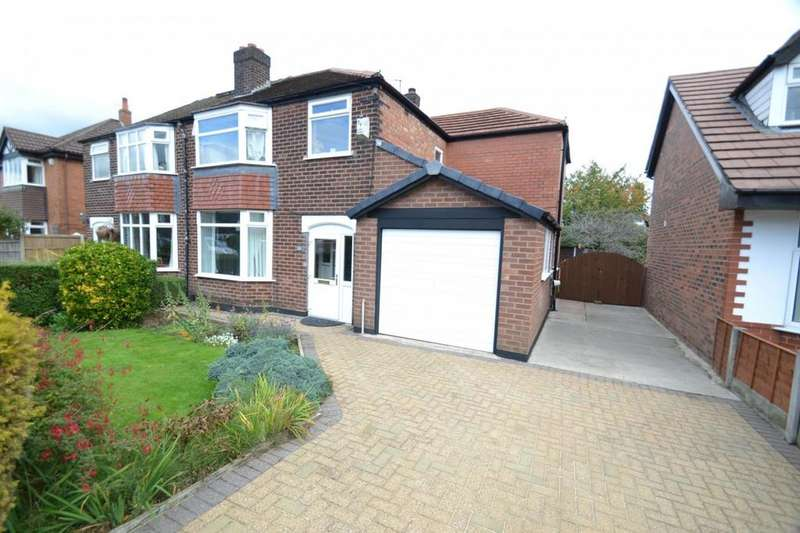 4 Bedrooms Semi Detached House for sale in Westmorland Road, Sale