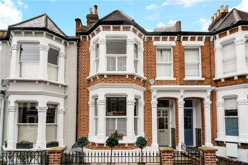 5 Bedrooms Terraced House for sale in Tantallon Road, Wandsworth, London, SW12