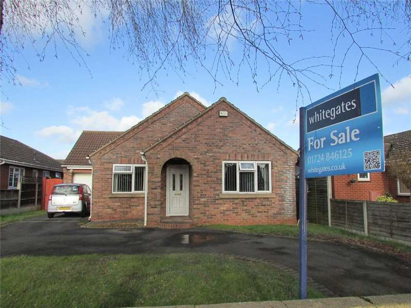 3 Bedrooms Detached Bungalow for sale in Honeysuckle Court, Bottesford, Scunthorpe, North Lincolnshire, DN16