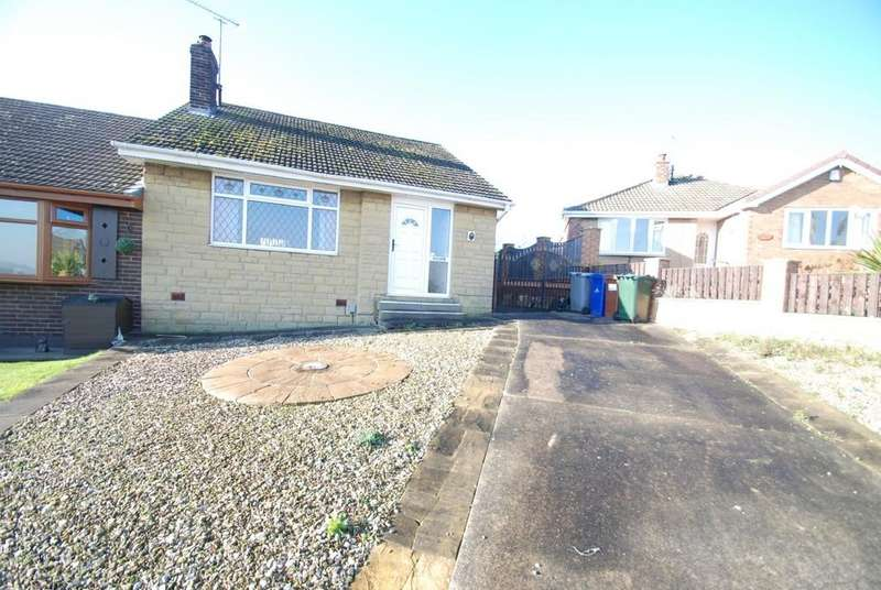 2 Bedrooms Semi Detached Bungalow for sale in Oriel Way, Monk Bretton, Barnsley S71