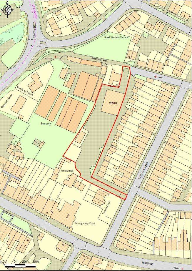 Land Commercial for sale in Victoria Road, Frome, Somerset, BA11