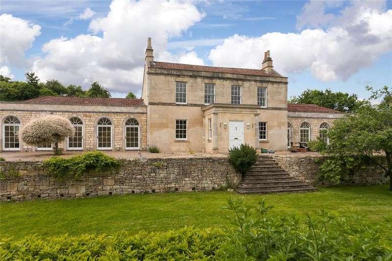 6 Bedrooms Detached House for sale in Holcombe Lane, Bathampton, Bath, BA2
