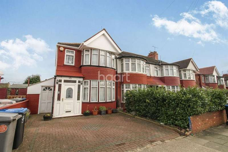 3 Bedrooms End Of Terrace House for sale in Lancelot Road, Wembley
