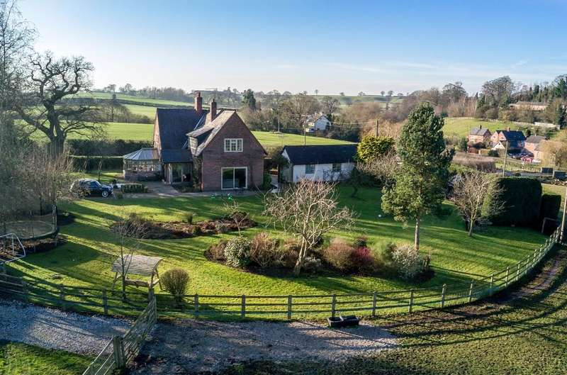 4 Bedrooms Detached House for sale in Highbrooke House, Higher Wych, Cheshire, SY14 7JT