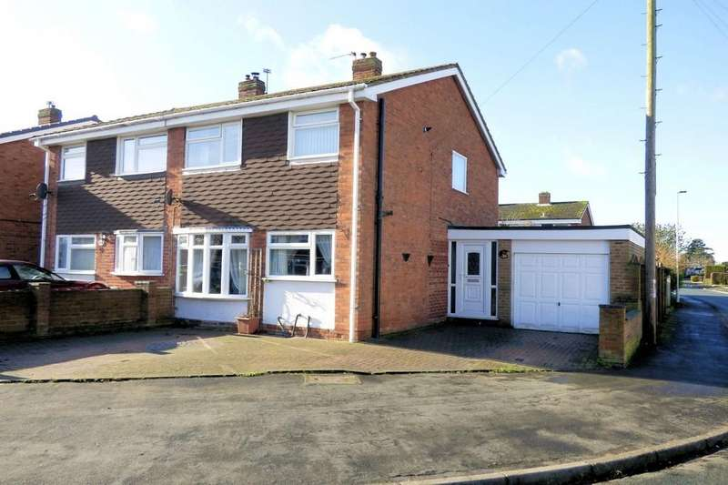 3 Bedrooms Semi Detached House for sale in Willow Road, Barton Under Needwood