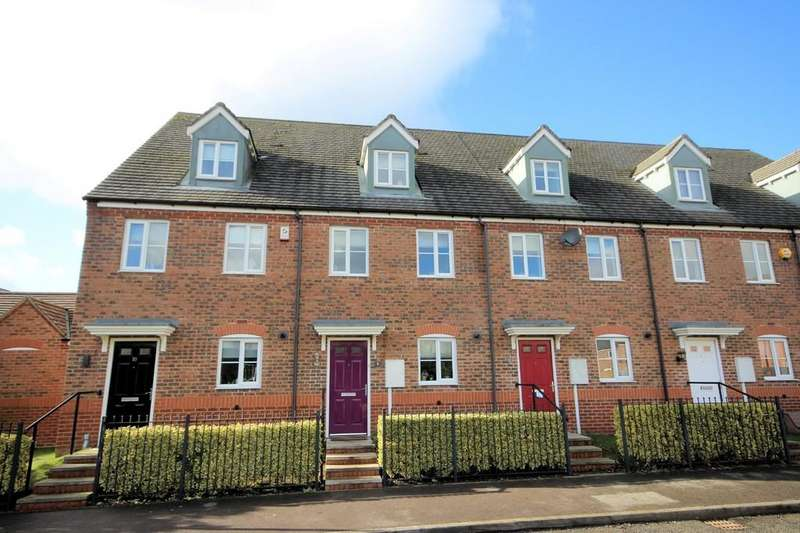 3 Bedrooms Town House for sale in Birch Road, Ashby-de-la-Zouch