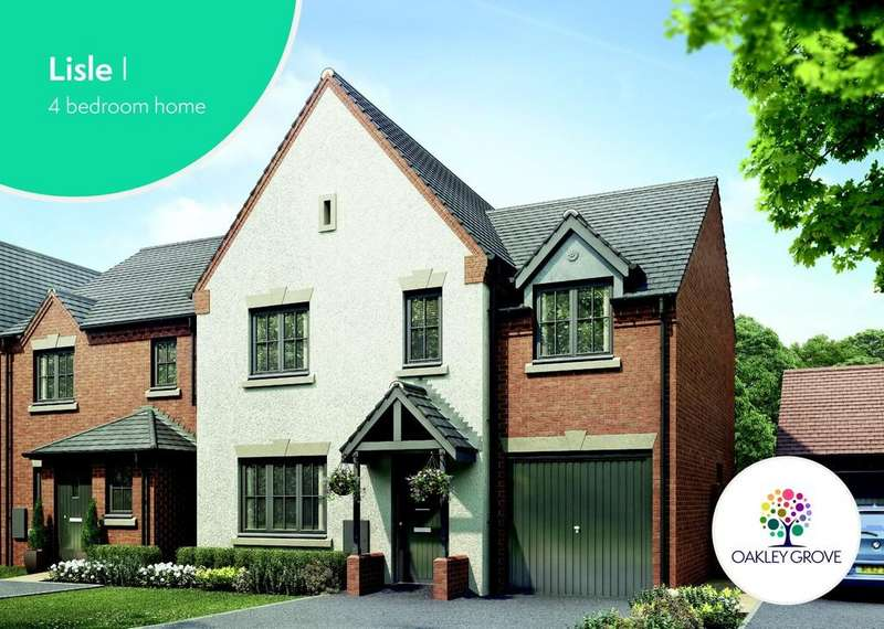 4 Bedrooms Detached House for sale in Plot 76 Lisle 1 Oakley Grove