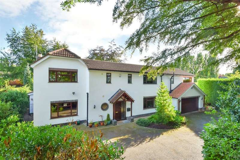 4 Bedrooms Detached House for sale in Hall Drive, Burton On The Wolds, Loughborough