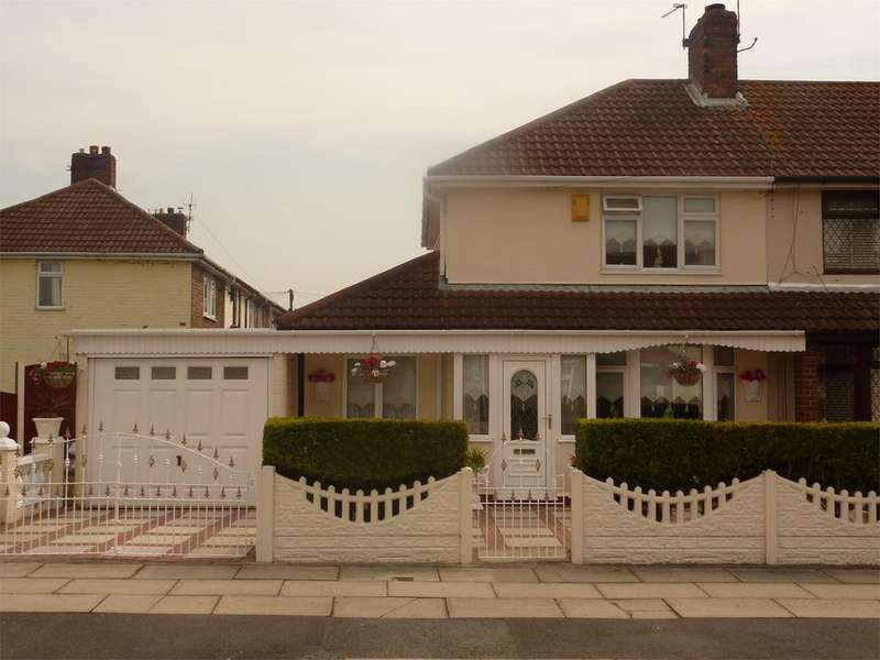 3 Bedrooms End Of Terrace House for sale in Grieve Road, Fazakerley, Liverpool, Merseyside, L10