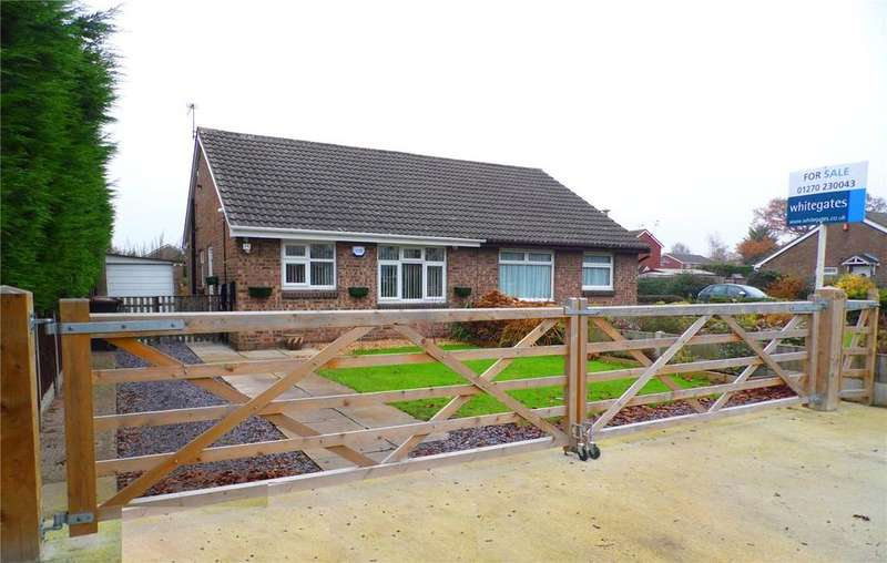 2 Bedrooms Bungalow for sale in Bradfield Road, Crewe, Cheshire, CW1