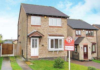 3 Bedrooms Detached House for sale in Pentland Gardens, Waterthorpe, Sheffield, South Yorkshire
