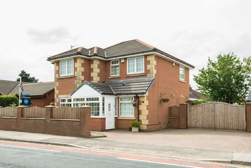 4 Bedrooms Detached House for sale in Liverpool Road South, Burscough