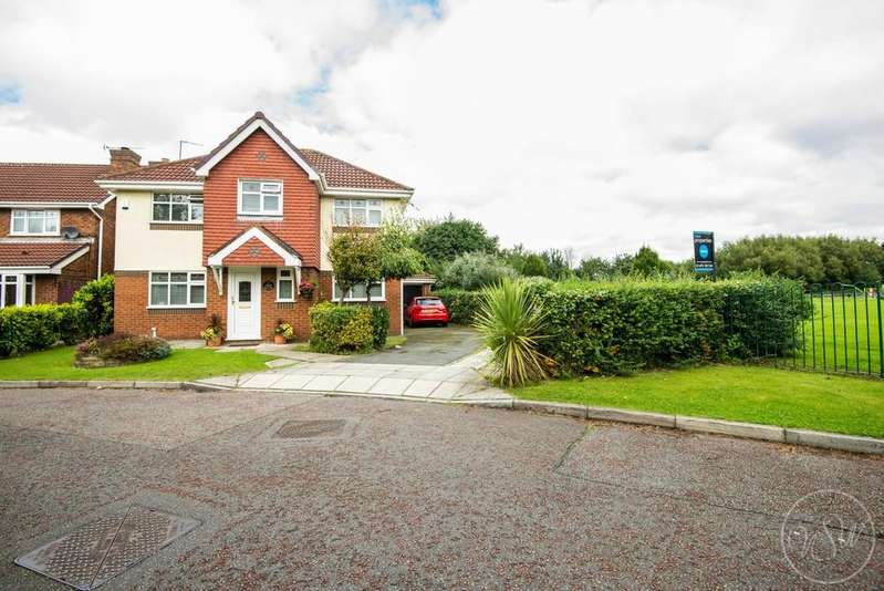 4 Bedrooms Detached House for sale in Glentworth Close, Maghull